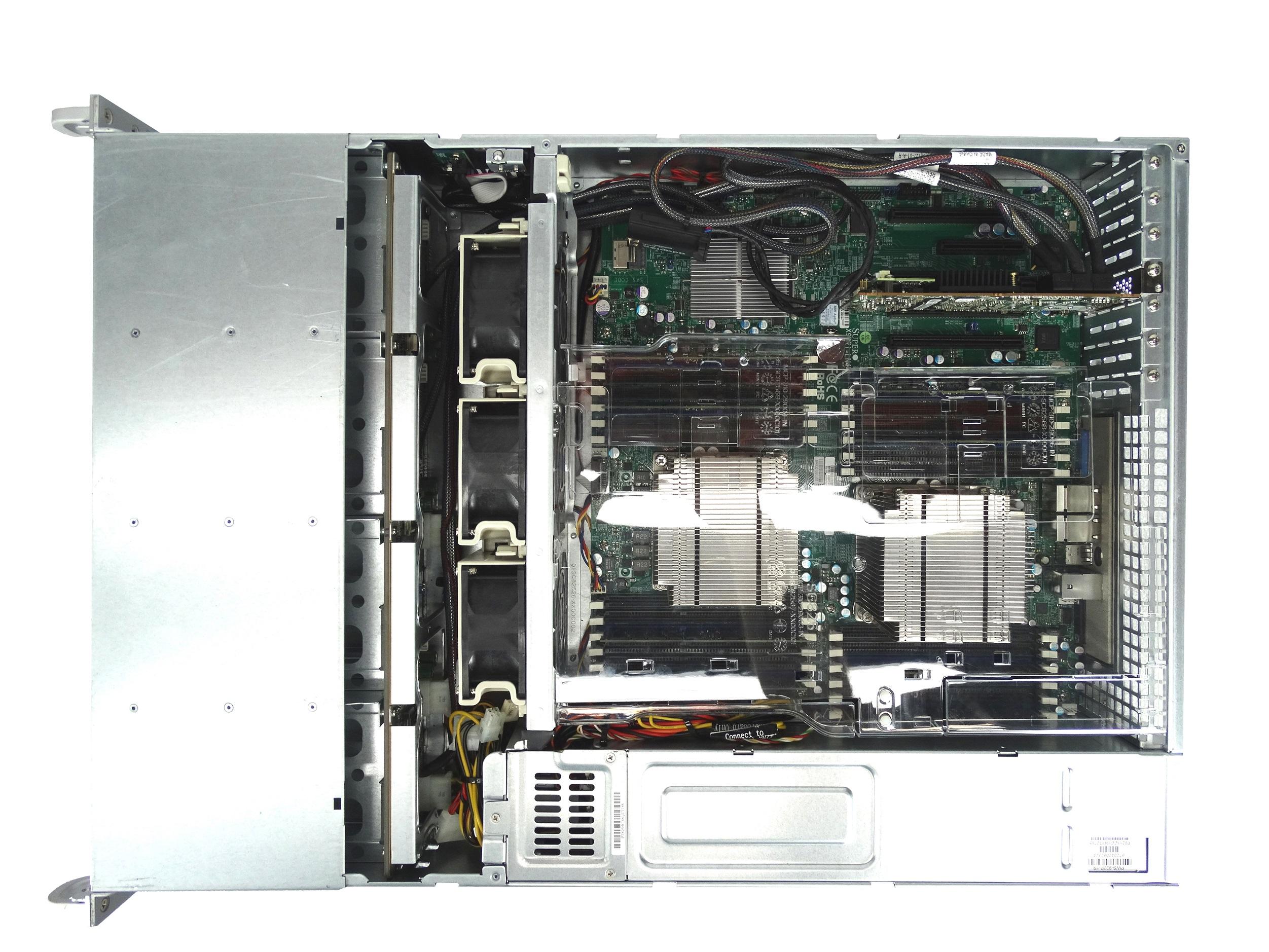 Supermicro SuperServer 6027R 12-Bay LFF 2U Rackmount Server with  X9DRi-LN4F+ Motherboard