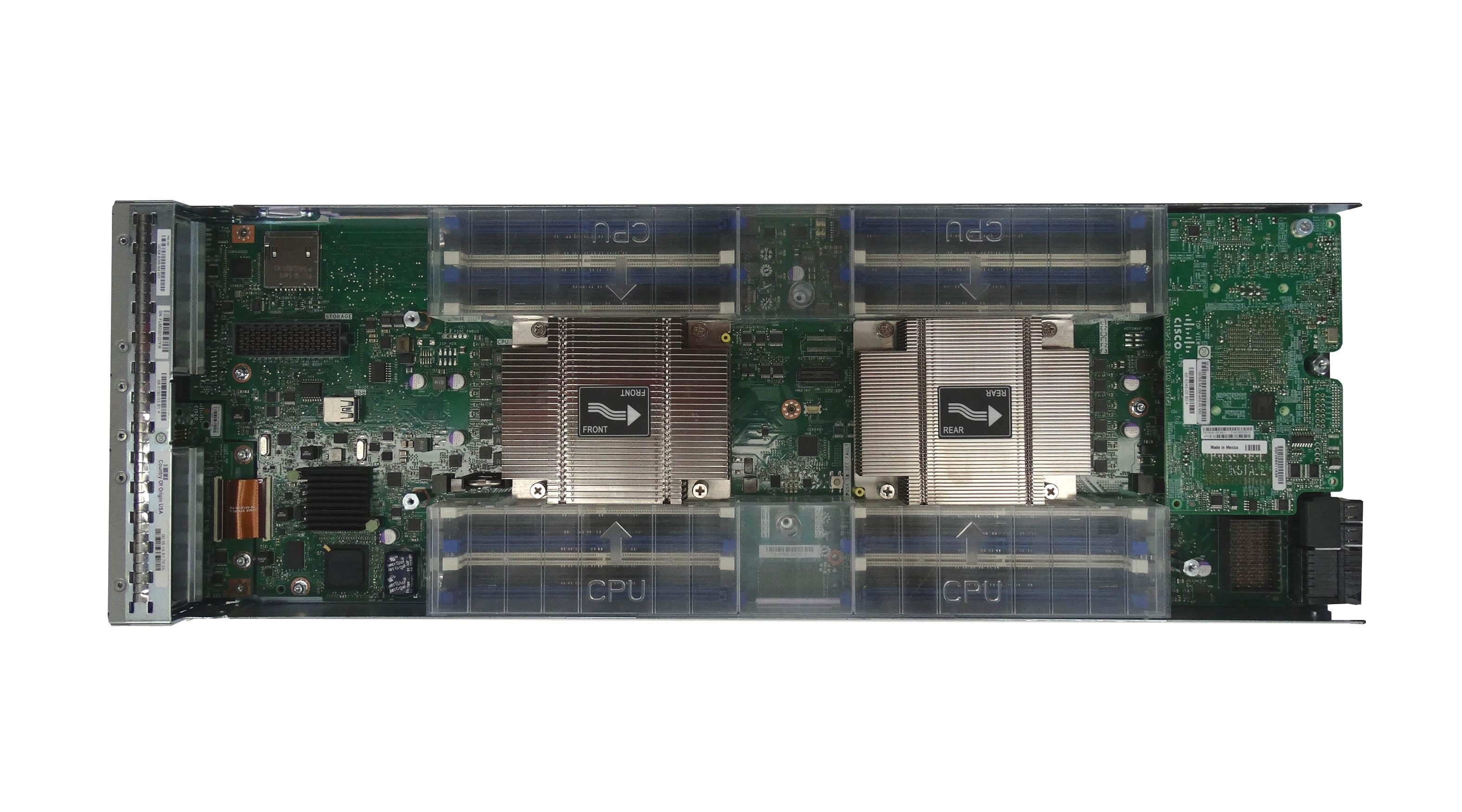 Cisco UCS B200 M4 2-Bay Blade Server (UCSB-B200-M4)