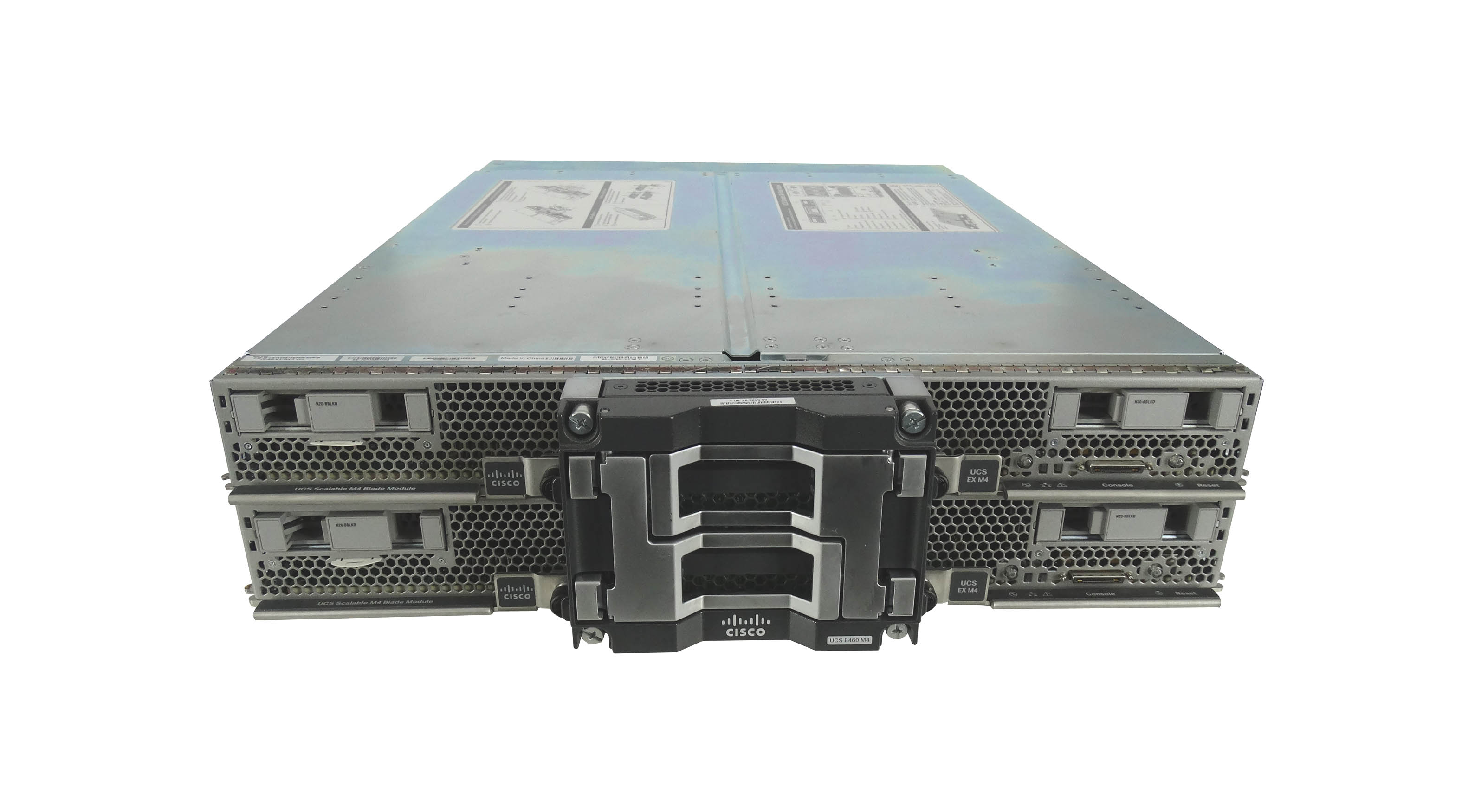 Cisco UCS 5108 Chassis with 2x B460 M4 Blade Server