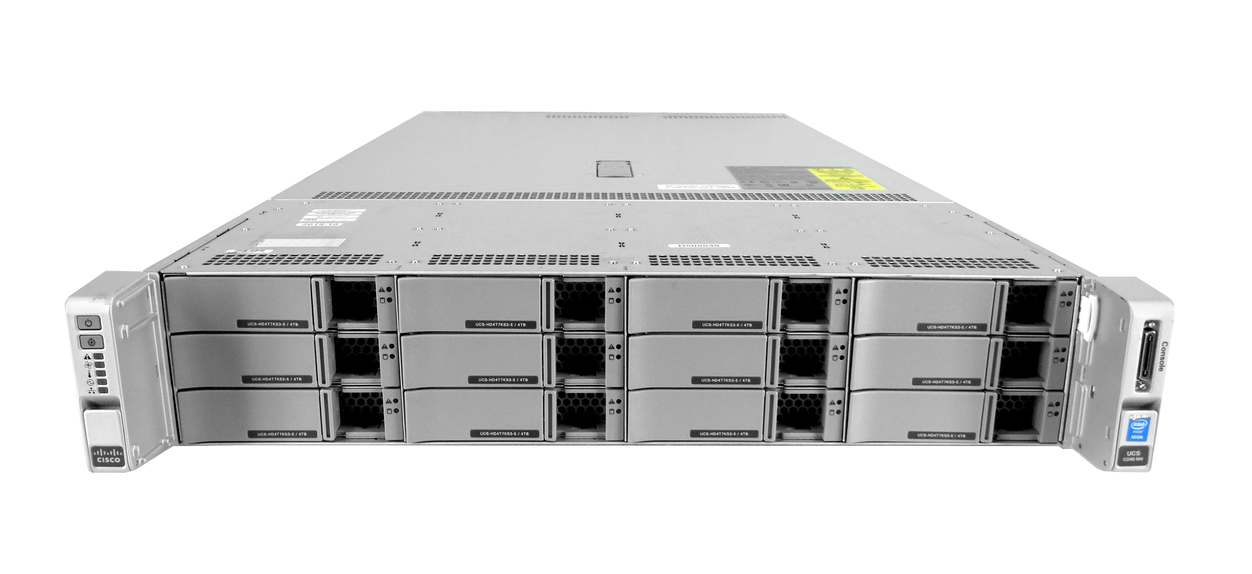 Cisco UCS C240 M4 front