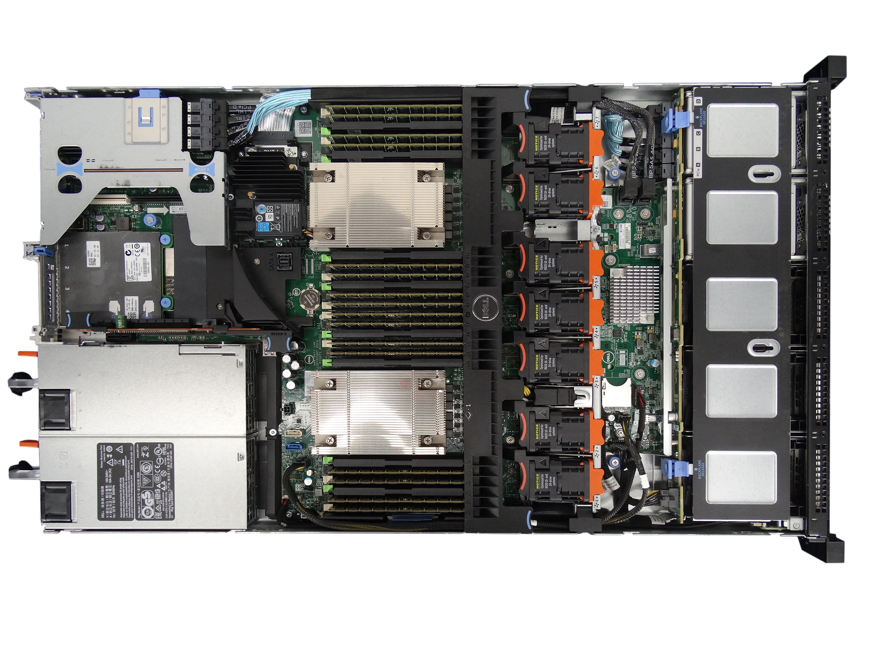 Dell PowerEdge R630 10-Bay with 4x NVMe Bay 1U Rackmount Server