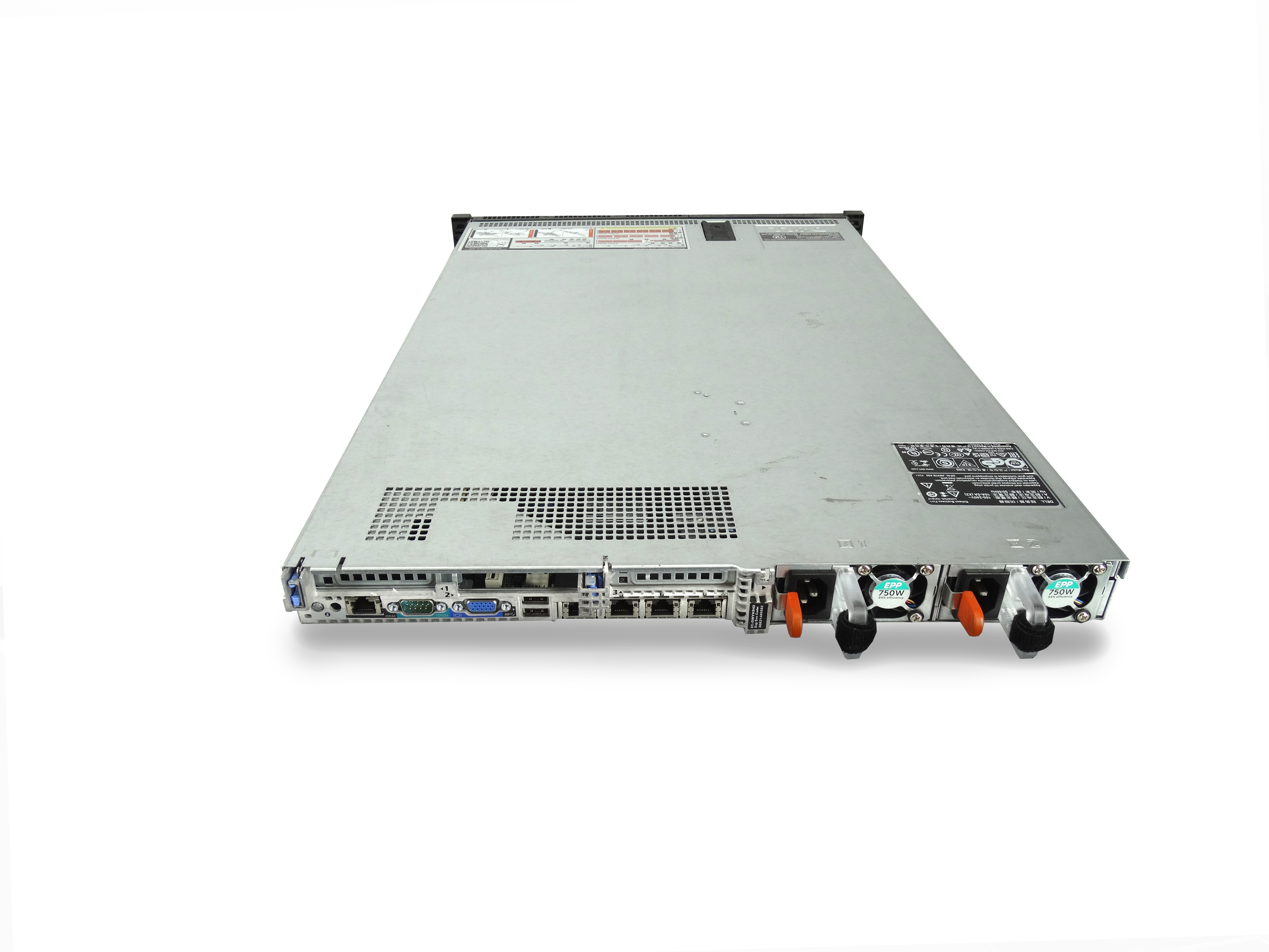 Full Rack Cabinet of 38x Dell PowerEdge R630 8-Bay 1U Servers with Arista  TORs & IPMI Switches