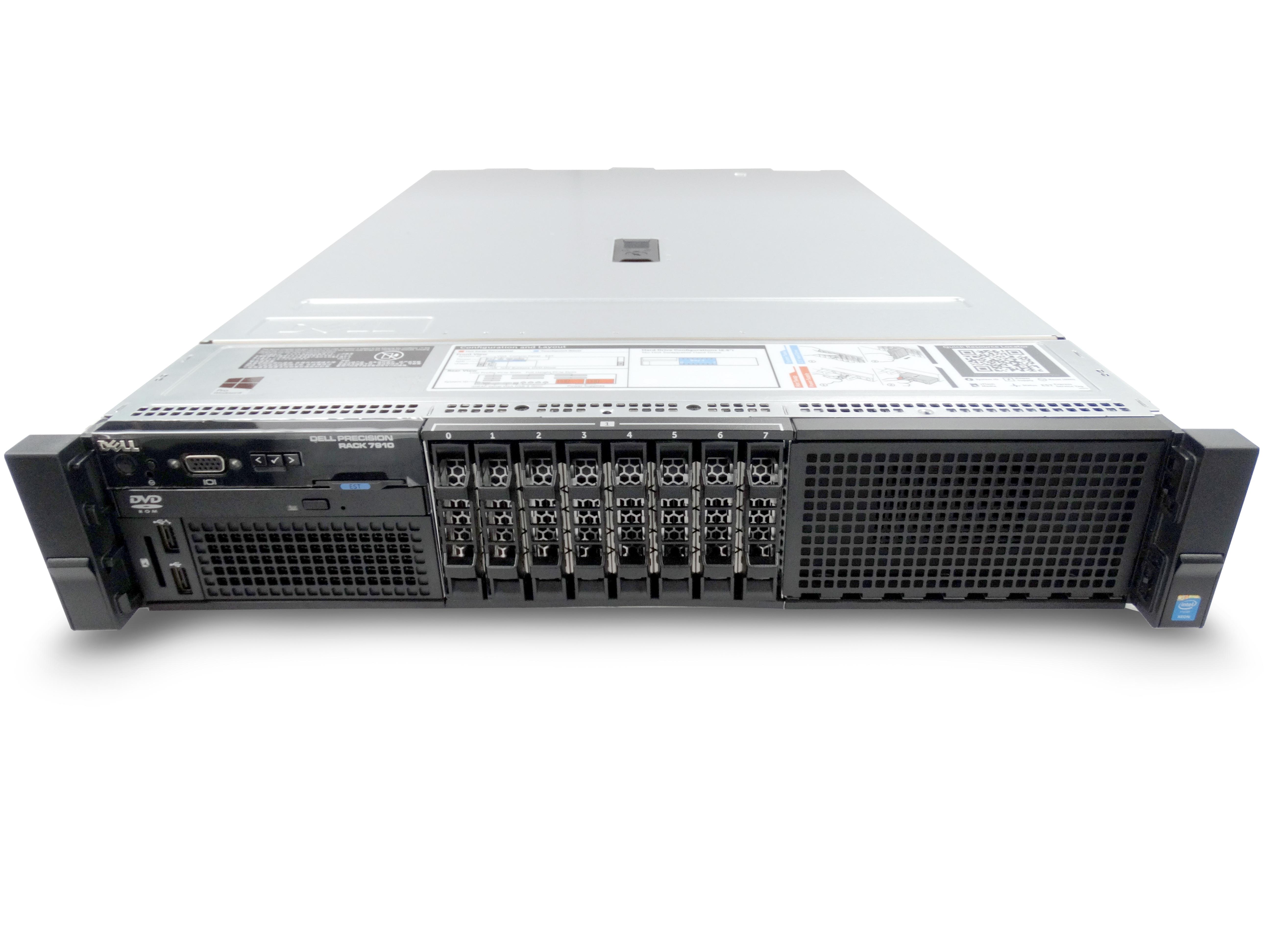 Dell Precision R7910 8-Bay SFF Rackmount Server Workstation