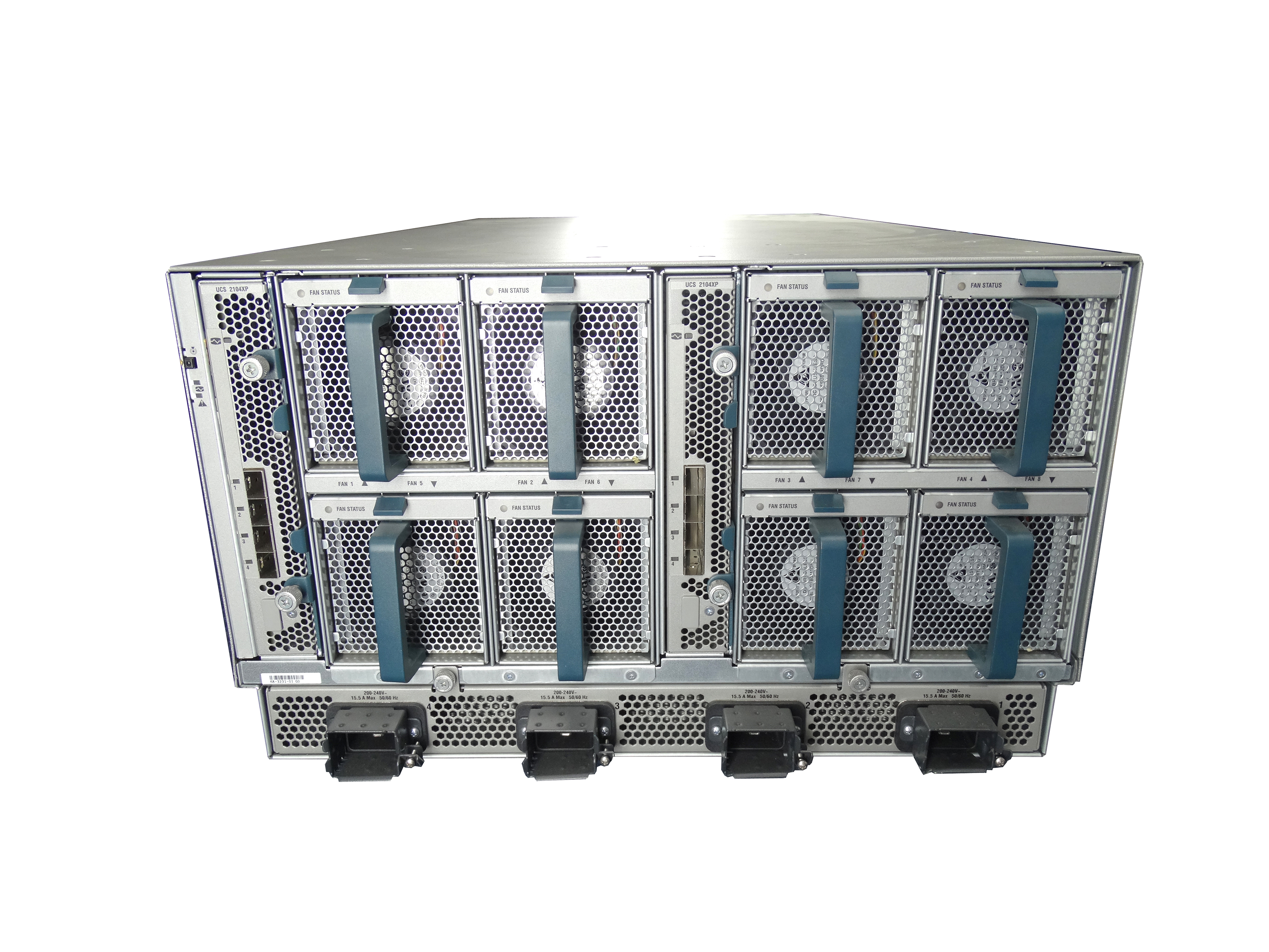 Cisco UCS 5108 Chassis with 8x B200 M3 Blade Server