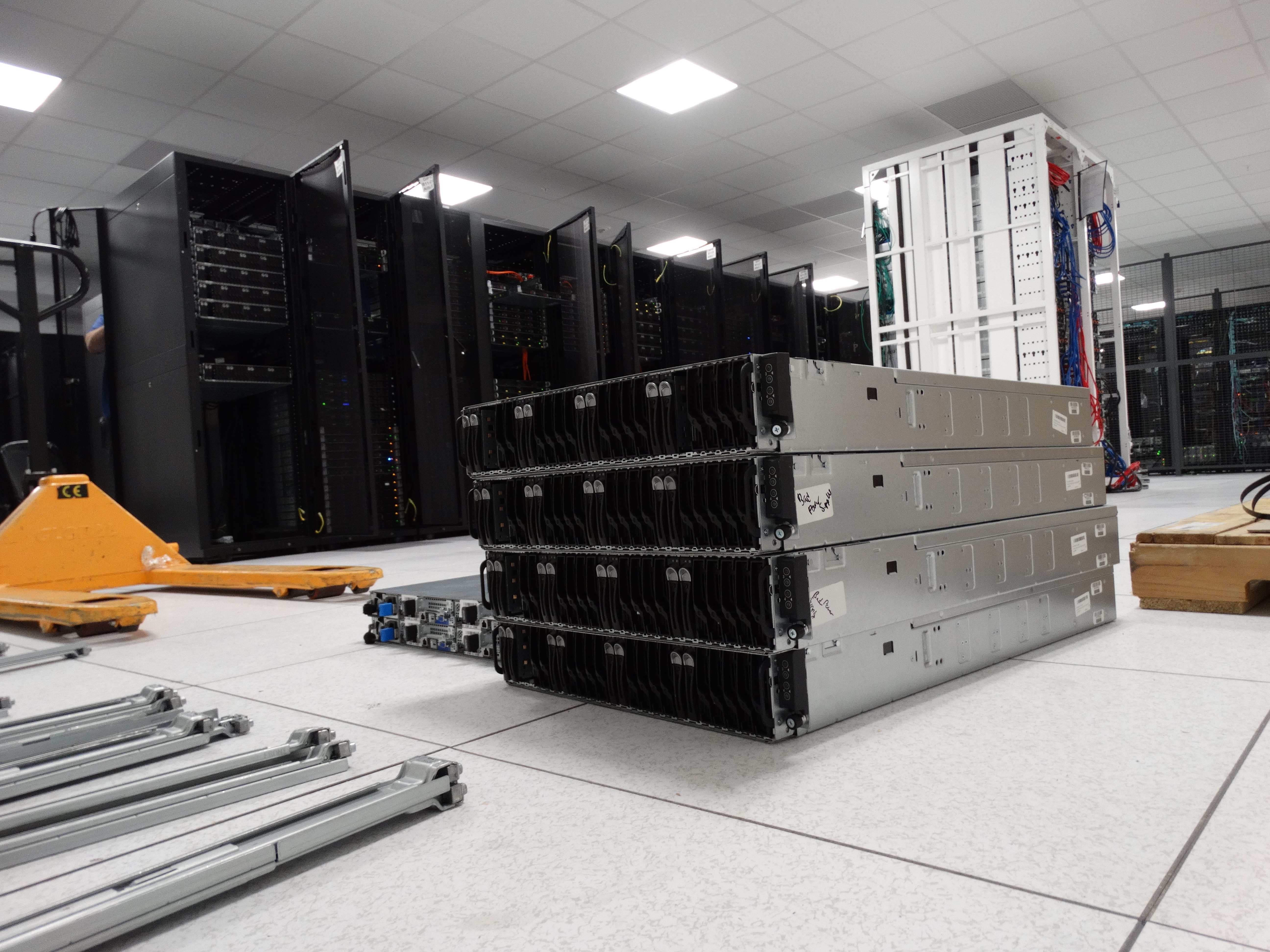 Colocation Racking New Servers