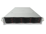 Supermicro SuperServer 6027R 12-Bay LFF 2U Rackmount Server with X9DRi-LN4F+ Motherboard