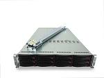 Supermicro SuperServer 6026TT-HDTRF 2-Node 12-Bay LFF 2U Rackmount Server
