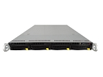 Supermicro SuperChassis CSE-815TQ 4-Bay LFF 1U Rackmount Server with X10SLM+-LN4F Motherboard