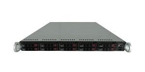 Supermicro SuperServer SYS-1027R-WC1RT 10-Bay SFF 1U Rackmount Server