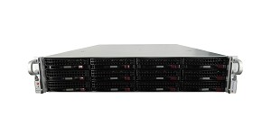 Supermicro SuperChassis 826BA-R1K28WB 12 Bay LFF 2U Server with X9DRW-3F Motherboard
