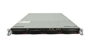 Supermicro SuperServer SYS-5017C-MTRF 4-Bay LFF 1U Rackmount Server with X9SCL-F Motherboard