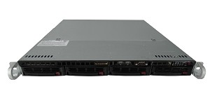 Supermicro SuperServer SYS-5018D-MTF 4-Bay LFF 1U Rackmount Server