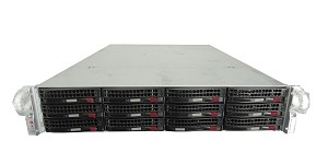 Supermicro SuperStorage 6027R-E1R12L 12-Bay LFF 2U Rackmount Server with X9DRD-7LN4F-JBOD