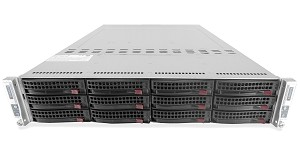 Supermicro SuperServer SYS-6027TR-DTRF 2-Node 12-Bay LFF 2U Rackmount Server
