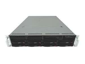 Supermicro SuperChassis 825TQ-R720LPB 8 Bay LFF 2U Rackmount Server with X9DRH-7F Motherboard