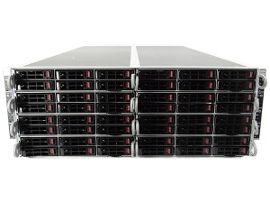 Supermicro SuperServer SYS-F618R2-RT+ 8-Node 48-Bay SFF 4U Rackmount Server with X10DRFR
